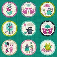 Makower 'The Windy Day' Labels fabric *NOW REDUCED*  WAS £4