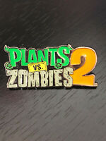 Vintage Collectible Plants vs. Zombies Colorful Metal Pinback Lapel Pin Hat Pin