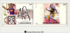 2002 Select AFL Exclusive Series Medal Signature Card MCS1 J.Akermanis(Brownlow)