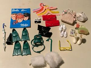 Lot of Vintage BARBIE Doll Accessories