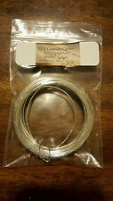 18awg silver plated 99.9999 % pure OCC solid core copper wire 18ft.Bid!