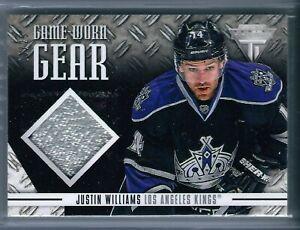 2012-13 Titanium Game Worn Gear Patch #73 Justin Williams 03/25 - LA Kings