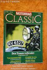 Motorrad Classic 2/89 Brough Superior BMW R51/3 CB 750