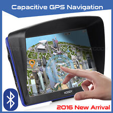 "7"" Truck Car GPS Navigation Lorry Coach 8GB Sat Nav Bluetooth AV-IN AU EU HGV"