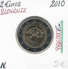 2 Euros - SLOVENIE - 2010 // Qualité: NEUVE - (986 000 Ex)
