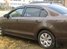Side Window Visors Sun Guard Vent Deflectors for Volkswagen Jetta 6 Sd 2011-18