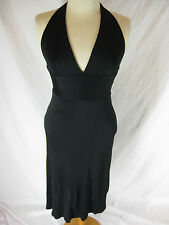 Gorgeous Sz 8 Seduce Black Silk Cocktail Dress