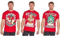 Mens Xmas Christmas Cotton T-shirt Funny Rude Explicit Joke Gift Present Top UK