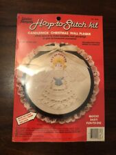 Candlewick Christmas Wall Plaque Kit ANGEL Creative Moments 1983 #8636