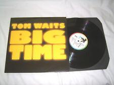 LP - Tom Waits Big Time - UK 1988 # cleaned
