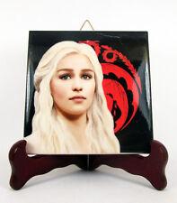 Daenerys Targaryen collectible handmade tile Game of Thrones Emilia Clarke