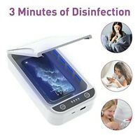 Weiß UV-Desinfektionsbox Telefonsterilisator Sterilisationsbox Sterilisator