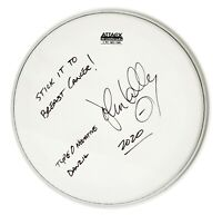 #95: Drumhead Autographed by Danzig / Type O Negative Drummer Johnny Kelly