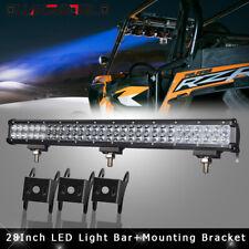 28inch LED Work Light Bar Flood Spot Offroad SUV Fits Chevy Silverado 2011-2015