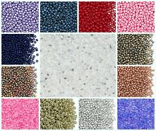 CHOOSE COLOR! 20g 8/0 (2.9mm) Seed Beads Preciosa Ornela Czech Glass