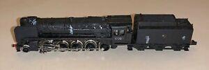Minitrix (N207) N Gauge Class 9F 2-10-0 Renumbered '92207' in British Rail black