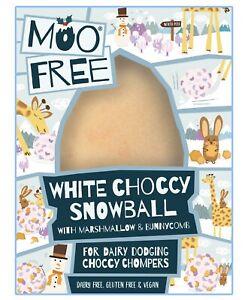 Moo Free White Choccy Snowball 65g Dairy Free