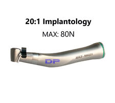Dental 20:1 Reduction Dental Implant Surgery Contra angle handpiece CE