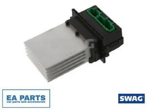 Resistor, interior blower for CITROËN PEUGEOT RENAULT SWAG 60 93 6695