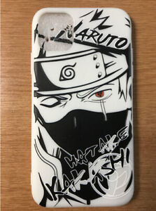 For Apple iPhone 11 Pro MAX Anime New 3D Relief Case Cover Hatake Kakashi Naruto