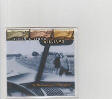 Robin & Linda Williams- In the Company Of Strangers US promo cd album.