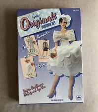 Vtg Golden Bride Originals Designer Set Paperdoll 1991