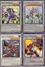 Yugioh Yusei Fudo Synchron Deck - Stardust Warrior, Tuning, Accel Synchron