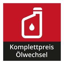 Ölwechsel zum Komplettpreis inkl. Ölfilter und Motorenöl