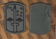US ARMY 172nd Infantry Brigade ACU uniform shoulder patch m/e