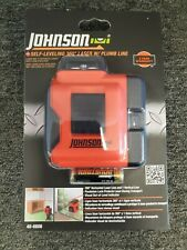 Johnson 40 6606 Self Leveling 360 Degree Laser With Plumb Line