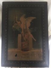 """Schlitz Beer Framed Print on Canvas """"Famous For Purity"""" - Pre-Prohibition - Rare"""