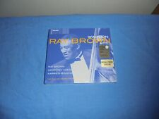 """Ray Brown """"Walk On - The Final Ray Brown Trio Recording"""" 2CD TELARC 2003 SEALED"""