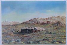 Opal Miner's Hut by Jack Absalom 1982 Postcard (P312)