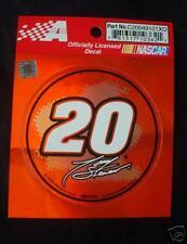 Nascar Tony Stewart #20 Decal Sticker Mint NEW