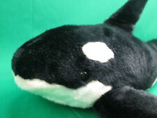 Big Seaworld Splash Show Adventure Lifelike Killer Whale Orca Plush Stuffed Toy