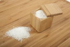 Core Bamboo Medium Square Wooden Salt Box / Spice Cellar
