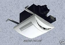 110 CFM Very Quiet Bathroom Fan/Light Combination