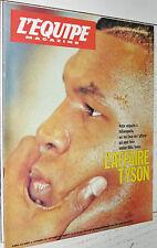 EQUIPE MAGAZINE N°510 1991 TYSON BOXE DELE LITUANIE BASKET DREAM TEAM USA
