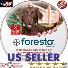 Bayer Seresto Foresto Flea & Tick Collar for Large Dogs Over 18lbs