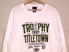Green Bay Packers Super Bowl XXXI thermal shirt by Reebok / 2XL / great / b38