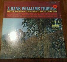 Buck Davis: A Hank Williams tribute LP Vinyl Record Album