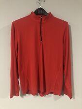 Kirkland Signature Men's Active 1/4 Zip Pullover Red Size XX-Large Athletic  XXL