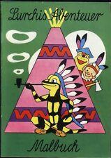 Lurchis Abenteuer Malbuch von 1970 - Werbecomicheft Salamander RARITÄT