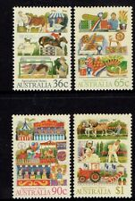 1987  AGRICULTURAL SHOWS MINT UNHINGED SET OF 4