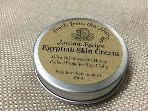 Ancient Egyptian Skin Cream - Luxury Handmade & Fresh from the Hive