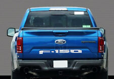 2018 FORD F150 TAIL GATE LETTER 18 F150 REAR STAINLESS CHROME TAIL GATE NAME
