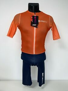 Nopinz Road Race Prototype Suit 2021- Small Mens - Navy/Orange