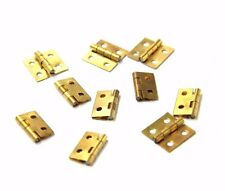 "10 x 1/2"" Brass Hinges for Clocks Door Hinges Replacement Part Mantel Wall Clock"