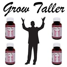 BONE GROWTH PILLS for Male - Female - Gain Up To 6 Inches In Height - 4 bottles