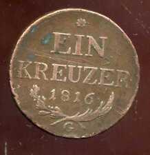 AUTRICHE 1 kreuzer 1816 G